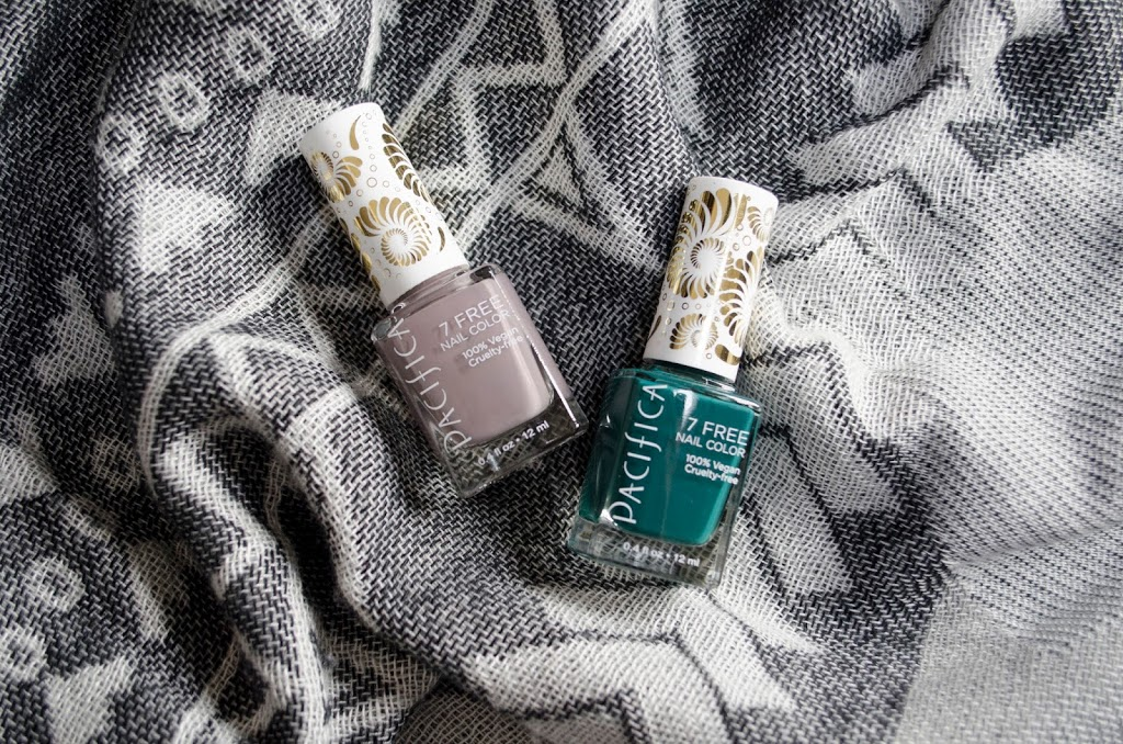 PACIFICA 7 FREE NAIL COLOURS in LONDON TOMBOY & DRIFT