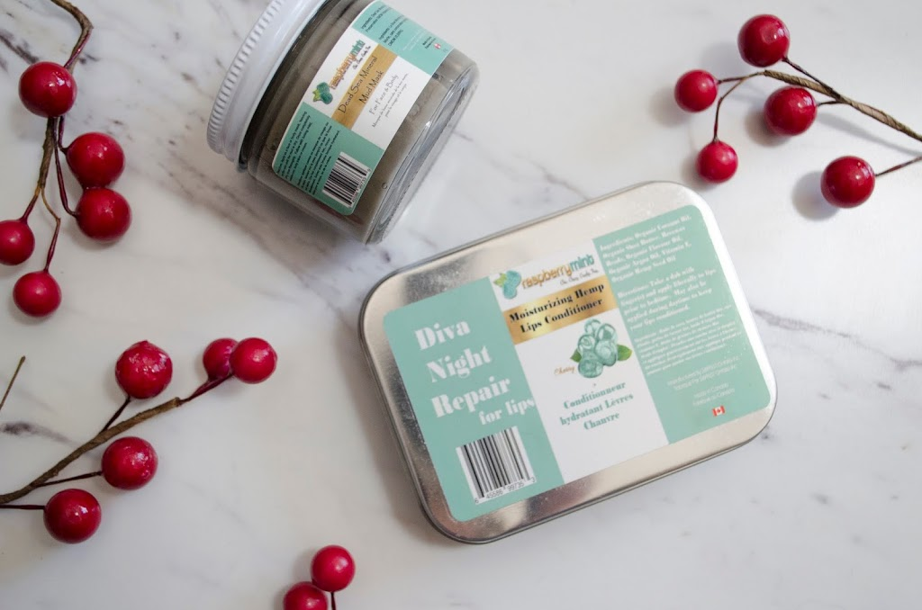 TRYING RASPBERRY MINT PRODUCTS & REVIEW
