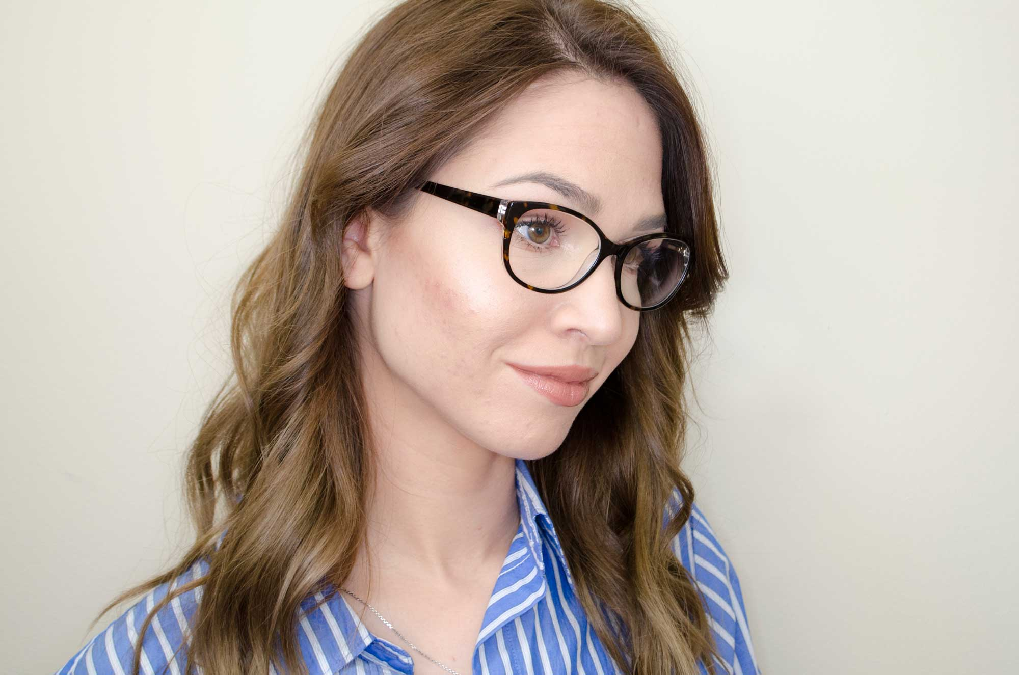 MAKEUP FOR GLASSES  (Everyday Work Makeup)